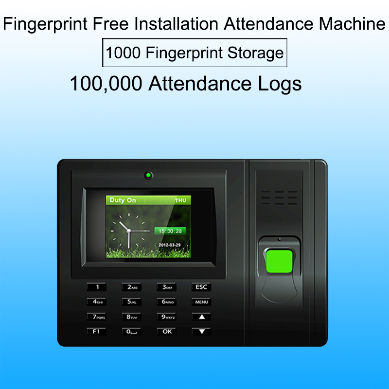 Biometric employee attendance system Fingerprint Time Attendance System USB Time Clock Recorder Office biometric reader Machine цена