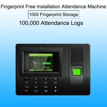 Biometric employee attendance system Fingerprint Time Attendance System USB Time Clock Recorder Office biometric reader Machine купить недорого в Москве