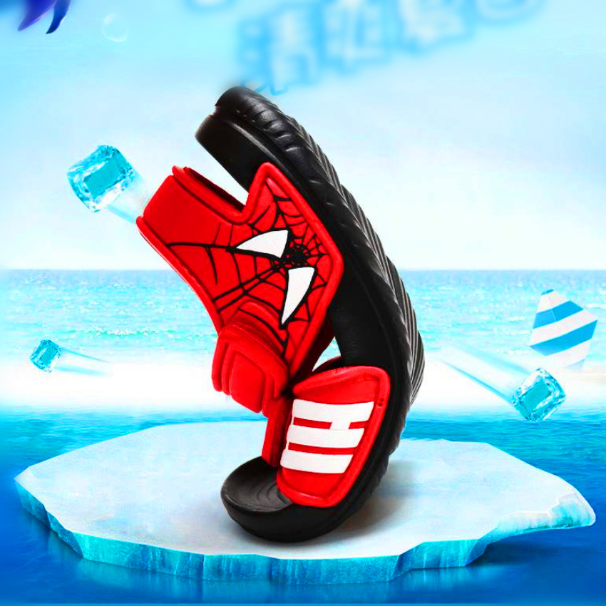 Kids Summer New Non-slip Beach Shoes Open Children's Sandals Wild Boys Student Children's Princess Soft Bottom Shoes 2019