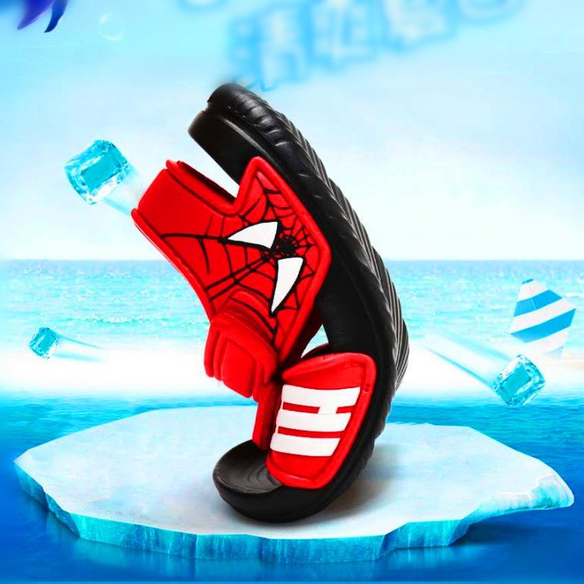 Kids Summer New Non-slip Beach Shoes Open Children's Sandals Wild Boys Student Children's Princess Soft Bottom Shoes 2019