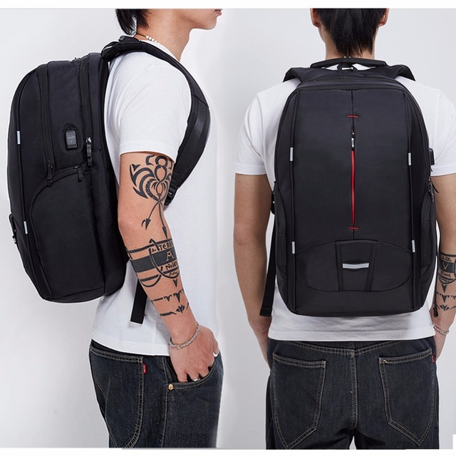 Waterproof Laptop Macbook USB Backpack 15.6 -17.3 inches