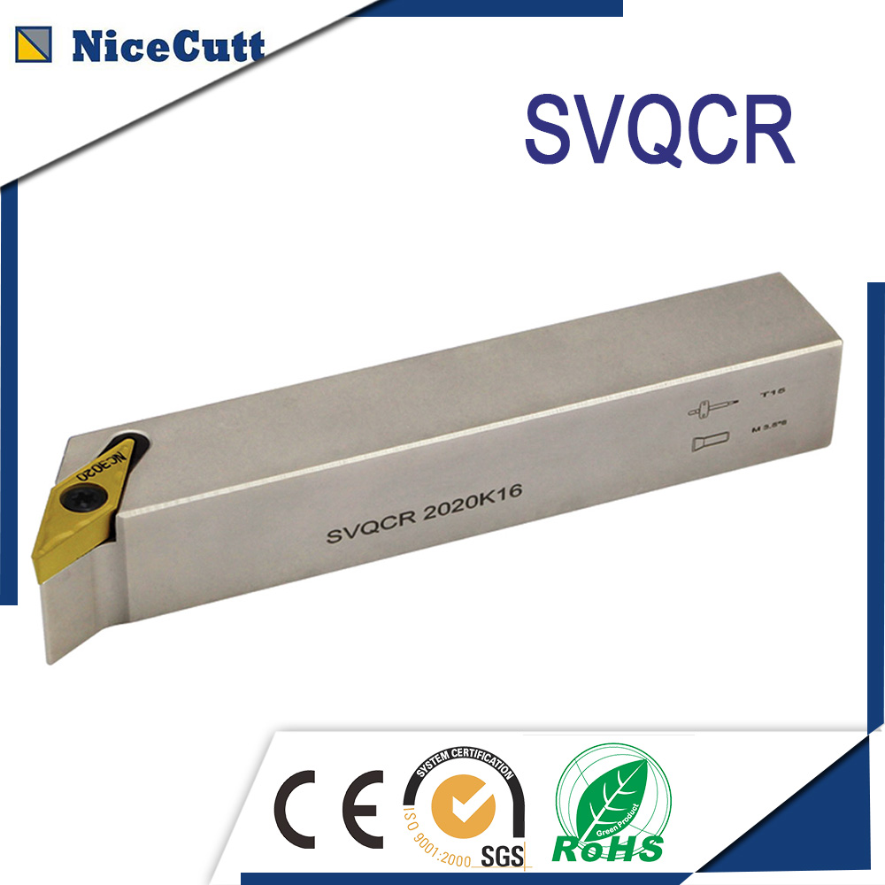 Free Shipping External Turning Tool Holder SVQCL Machine Metal Lathe Cutting Tool Holder Left Hand With High Quality