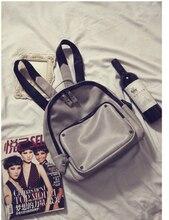 Мода малый женщины искусственная кожа рюкзак два плеча рюкзак для путешествий кампус студент многофункциональный рюкзак b-598 * 639
