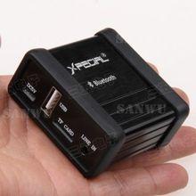 Odbiornik bluetooth bezprzewodowy Audio USB DAC dekodowanie karty TF odtwarzacz 3.5MM AUX dla głośnika domowego samochodu remont DIY