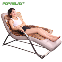 Pop Relax Health Mattress Electric Massage Mat 2 Sides Heating Physiotherapy Body Pain Relief Tourmaline Jade Ab Moxa Masaje Mat