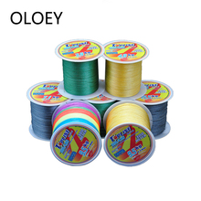 OLOEY Wire Braided Fishing Line 100m Japan Strong Fiber Series Lines 4 Strands Carp Camouflag Multifilament