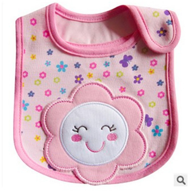 1PCS Newborn Baby Bibs Waterproof  Bib Bandana Baberos Bibs For Kids  Girls Boys Bib Baby Clothing 1