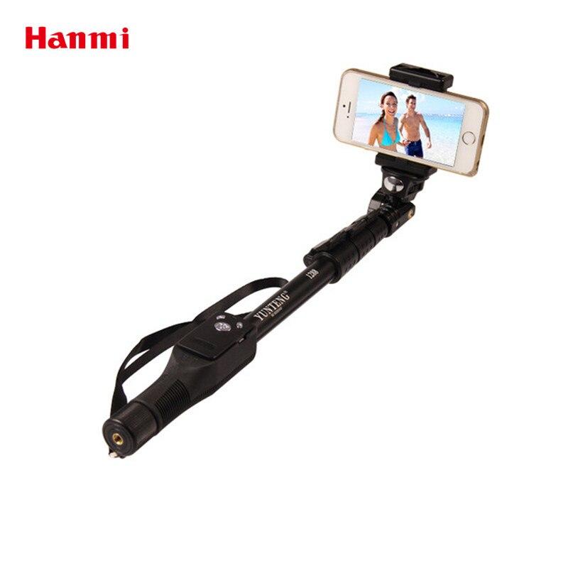 YunTeng 1288 Étanche Selfie Bâton Bluetooth Déclencheur À Distance Trépied Monopode Selfie Bâton Pour iPhone Gopro Hero Caméra HD Selfie