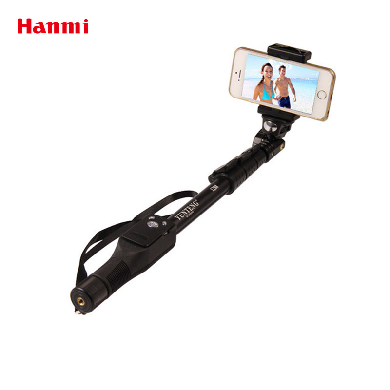 YunTeng 1288 Waterproof Selfie Stick Bluetooth Remote Shutter Tripod Monopod Selfie Stick For iPhone Gopro Hero Camera HD Selfie