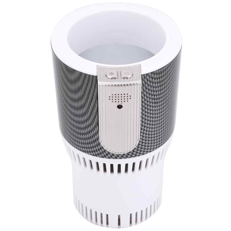 Smart Car Hot and Cold Cup Freezing Heating Portable Hot Cup Drink Holder Beverage Can Cooler for Home Office Traveling