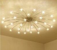 Европейский Стиль матовый Кристалл Потолочный светильник для Гостиная Спальня светодиодный зале отеля роскошные Розы лампы освещения дом