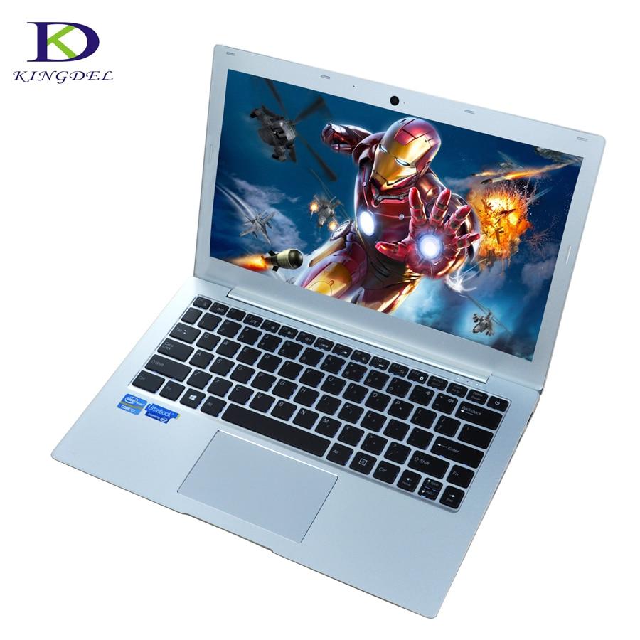 Backlit Keyboard Bluetooth Netboook Core I7 7500U Dual Core 13.3 Inch Window10 Intel UltraSlim Laptop Computer With 8GRAM
