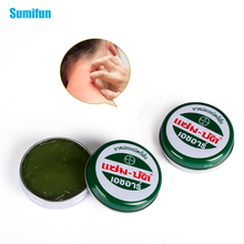 1pcs Thailand Refresh Oil Skin Care Herbal Cream For Dizziness Headache Pain Relief Mosquito Itching Green Ointment P0009