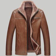 top 2016 brand Men Long New Leather Jacket Jaquetas Couro Men Leather Jacket Genuine Leather Jacket Men Male Winter Jacket Coat