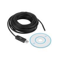 6 LED Waterproof 10M USB HD 5 5mm Endoscope Borescope Inspection Camera