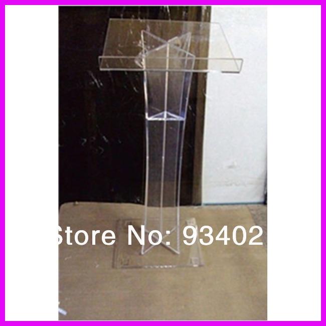Clear Acrylic Podium Pulpit Lectern, Plexiglass Lecten hot sale church lectern podium pulpit rostrum acrylic clear lectern acrylic lectern acrylic podium pulpit