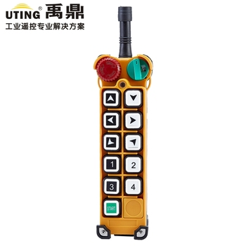F24-10S nice industrial remote control transmitter wireless universal crane radio remote control for overhead crane ac/dc