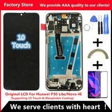 2312*1080 AAA Original LCD With Frame For HUAWEI P30 Lite Lcd Display Screen For HUAWEI P30 Lite Screen Nova 4e MAR-LX1 LX2 AL01(China)