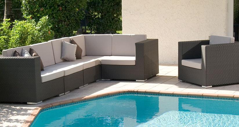 2017 Hot Sale Weatherproof Essential Smart Home Outdoor Rattan Furniture