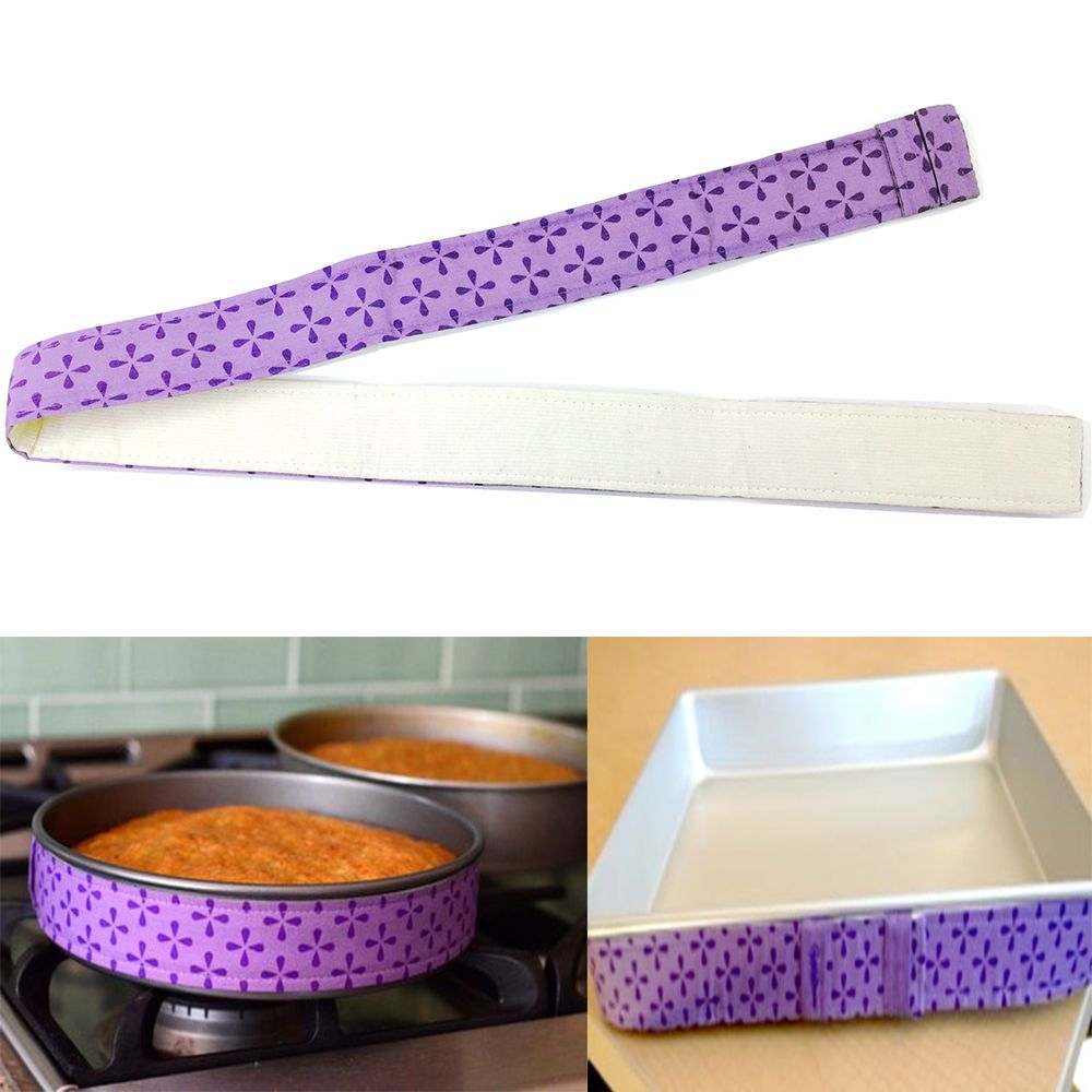 Cake Pan Strips Bake Even Strip Belt Bake Even Bake Moist Level Cakes Baking Tool