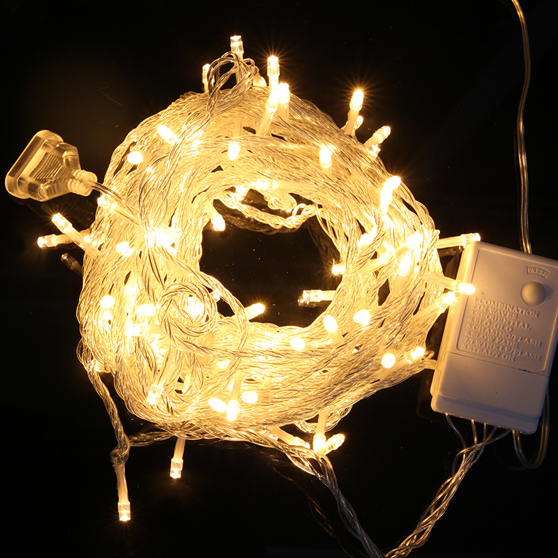 40leds 5M LED Fairy String Lights Copper Christmas Home Outdoor Decoration Holiday Party guirlande lumineuse Lighting