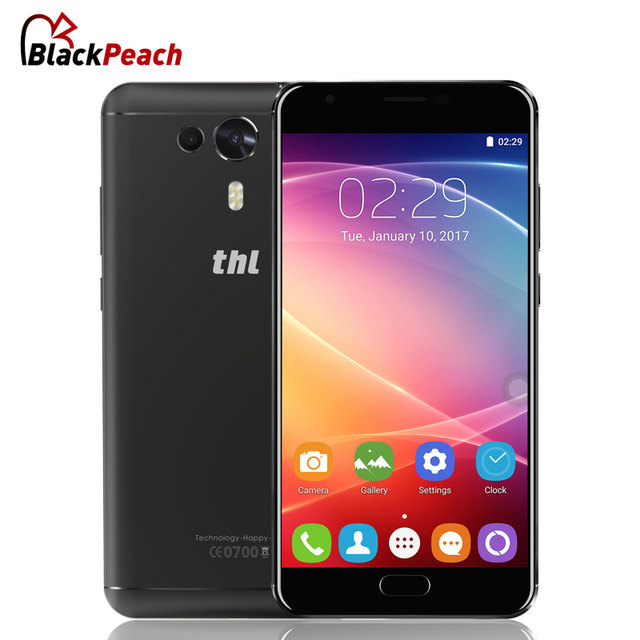 THL Knight 1 Mobile Phone 5.5 Inch FHD Android 7.0 MTK6750T Octa Core 3GB RAM 32GB ROM 13MP Dual Camera Fingerprint ID 4G LTE