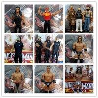 Hot Toy 18 CM di Alta Qualità Classico Giocattolo Super-Mobile Giunti bambola Wrestler Hulk Hogan Fighter Action Figure Model Toy In magazzino
