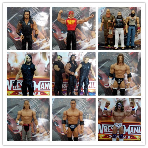 Hot Toy 18CM High Quality Classic Toy Super Movable Joints Doll Wrestler Hulk Hogan Fighter Action Figure Model Toy In Stock bolted joints in laminated composites
