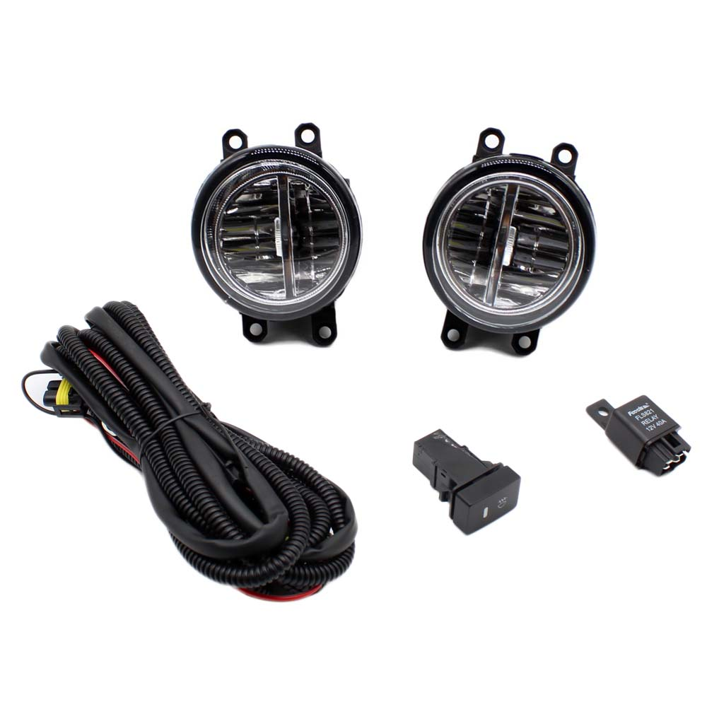 Buy For Toyota Yaris 2006 2013 H11 Wiring Harness 2011 Highlander Sockets Wire Connector Switch 2 Fog Lights Drl Front Bumper Led Lamp From Reliable Car