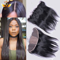 Silk Base Frontal With Baby Hair Peruvian Straight Virgin Hair Ear To Ear Silk Top Closure 13x4 Human Hair Lace Frontals Weave