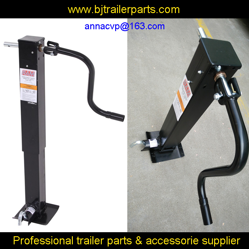 CVP 12000 Lbs side wind Trailer Jack drop leg ,trailer jack, trailer jockey wheel, trailer parts