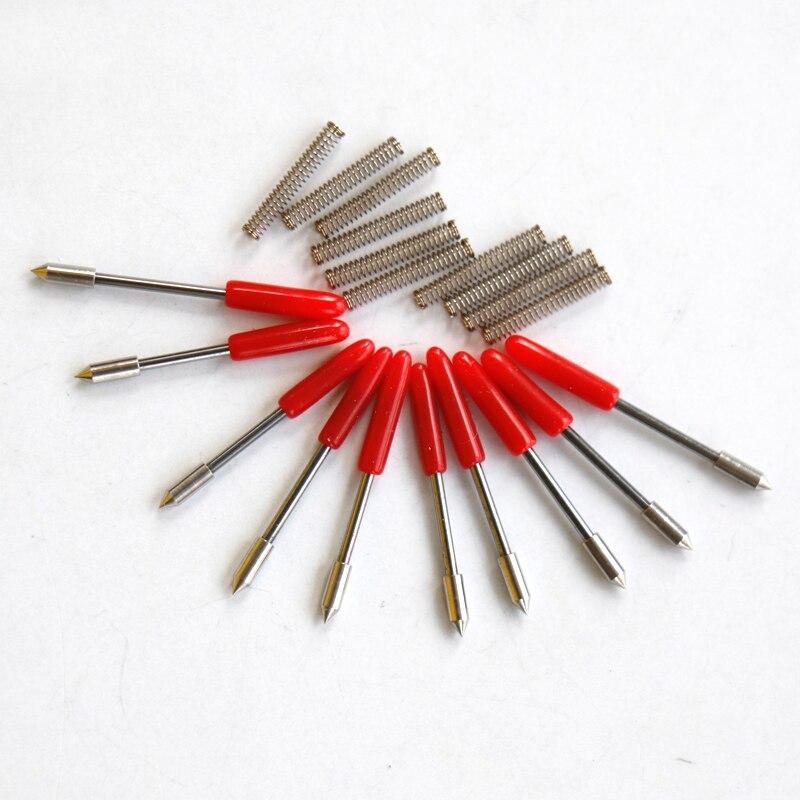 10 pcs x 45 degree high quality cb09 graphtec blade cutting plotter vinyl cutter cb09 cb09u