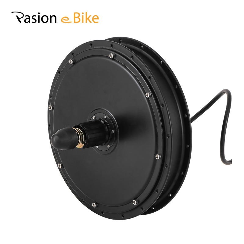 PASION E BIKE 48V 1500W High Speed Rear Wheel Hub Motor Freewheel / Cassette Motor Electric Bicycle Brushless Non-gear Hub Motor electric motorcycle 60v1000w brushless non gear hub motor 225 55 8 tire vacuum tire for electric bicycle wheel motor