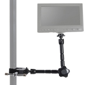 Image 5 - 11Inch Adjustable Friction Articulating  Magic Arm+ Super Clamp for DSLR Rig LCD Monitor LED Flash Light Camera Accessories