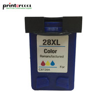 1PK 28 xl Color Remanufactured ink cartridge 28XL for HP Deskjet 5550 3420 3520 3550 3650 3740 3845 3535 450 450CI Printer 28xl