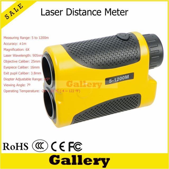 trena laser Fashion Hunting Laser Rangefinder Golf Range Finder Leveling 1200M Laser Rangefinder Distance Meter bolha de nivel