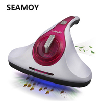 400W Mites Vacuum Cleaner UV Sterilization Handheld Home Bed Mattress Cleaners Household Cleaning Appliances Gold Red 5M Cable