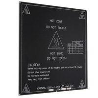 3D Printer Heatbed Heat Bed MK3 Standard Aluminum Plate 3MM Hot Bed Reprap PCB Board 215x215x3mm