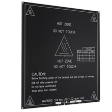3d-принтер heatbed Тепла кровать MK3 Стандартные Алюминиевые пластины 3 ММ горячей кровать reprap ПЕЧАТНОЙ Платы 215x215x3 мм 3D Принтер Частей