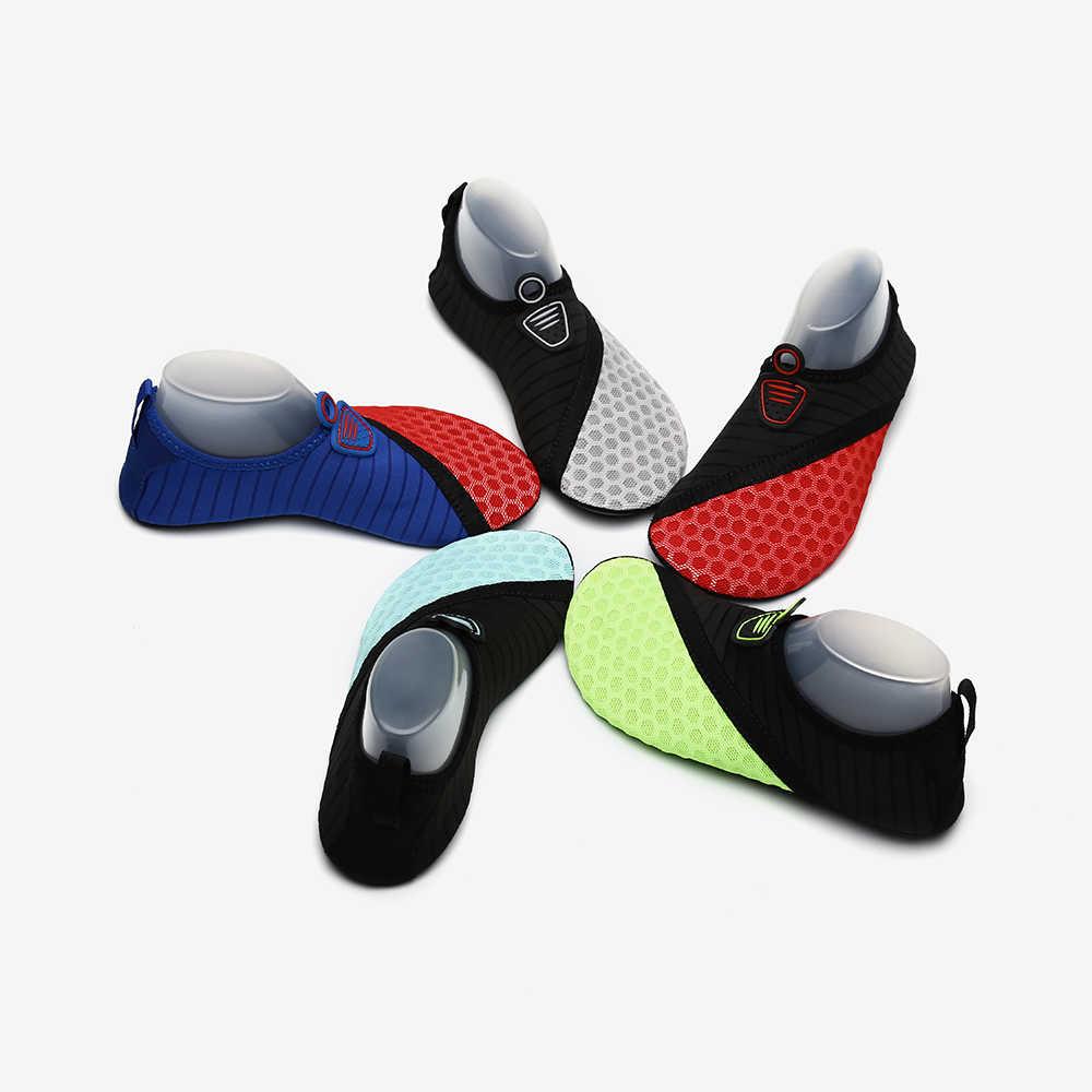 7121c73ccd60c ... Zapatilla zapatos para la natación mar Aqua nadar Surf agua descalza  botines zapatos de playa Mujer ...