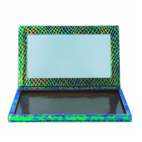 Greeen Rỗng Nam Châm Trang Điểm Palette đối với Eyeshadow Che Khuyết Blush Vẻ Đẹp Mỹ Phẩm DIY Make Up Set