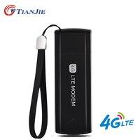 TIANJIE высокоскоростной разблокированный 3g 4G LTE USB модем портативный USB 4G ключ 3g 4G sim-карта USB ключ универсальный сетевой usb-адаптер
