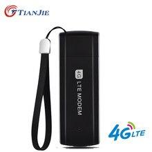 Tianjie modem usb desbloqueado alta velocidade, modem 3g 4g lte usb 4g adaptador universal de rede usb, cartão sim