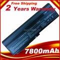 7800 mah bateria do portátil para asus n53s n53sv m50s a32-m50 a33-m50 a32-x64 a32-n61 + frete grátis