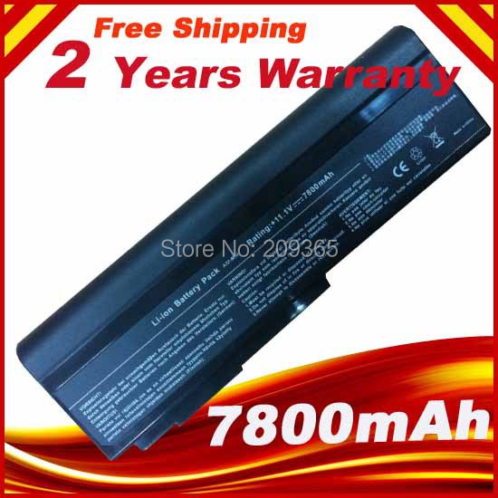 7800mAH Laptop Battery for Asus N53S M50s N53SV A32-X64 A33-M50 A32-N61 A32-M50+ Free Shipping