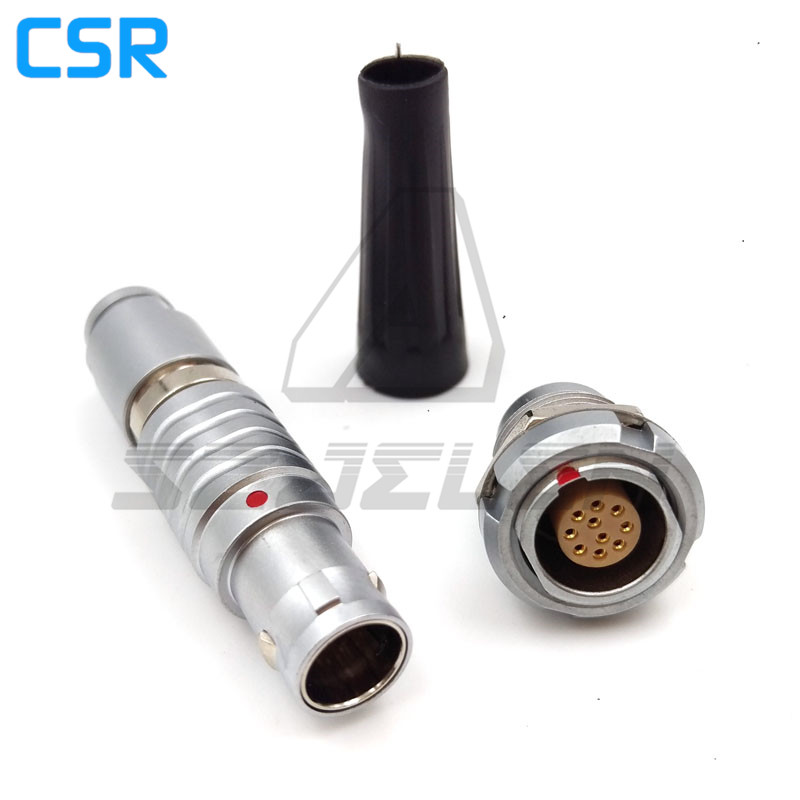 Compatible LEMO connector 1B series 10 pins Plug and sockets ,FGG.1B.310/ECG.1B.310.CLL, automotive metal connector 10pins lemo 1b 6 pin connector fgg 1b 306 clad egg 1b 306 cll signal transmission connector microwave connectors