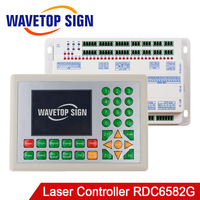 WaveTopSign Ruida RDC6582G CO2 Laser Controller Support Multi laser Heads(2 6pcs) Move