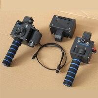 Heavy Video Camera Jib Crane 3 Axis Dutch Roll Head Remote Controller For Jib Crane