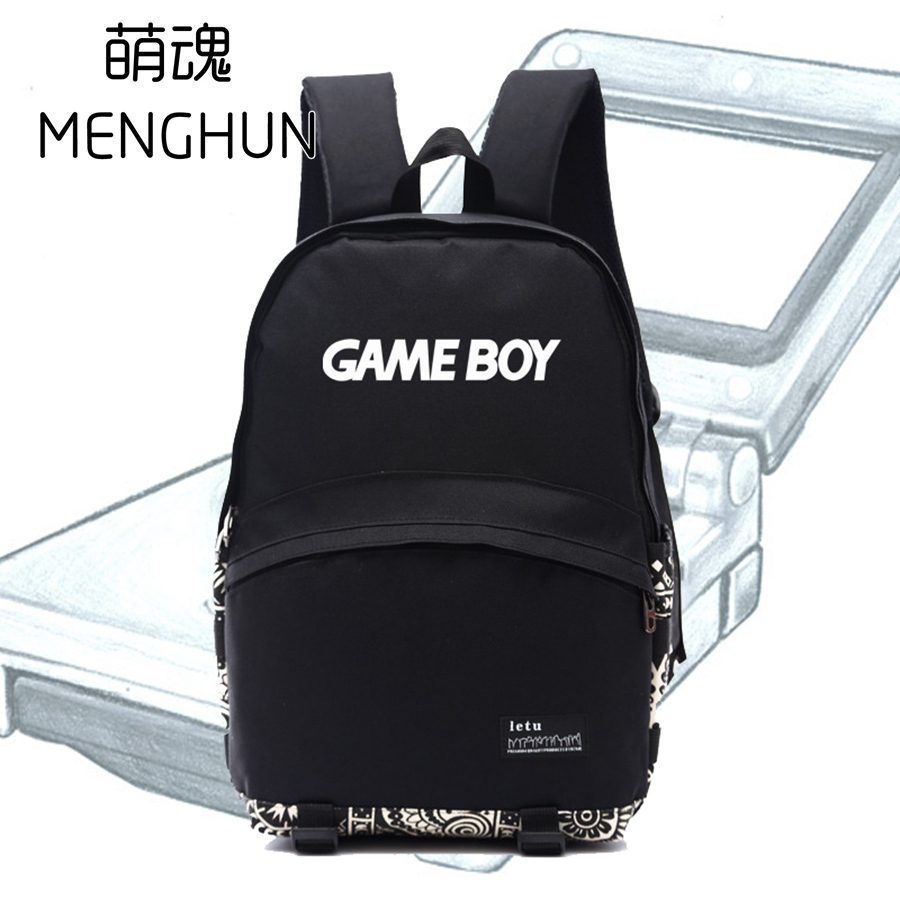 Retro game console handheld Game boy concept backpacks classical retro game fans backpack gift for gamers GAME BOY bag ac141 game boy картридж diskus