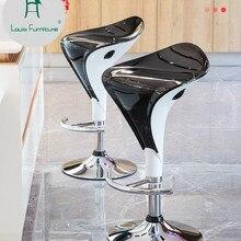 Модный барный стул Луи, подъемный стол, современный минималистичный креативный стул, домашний высокий